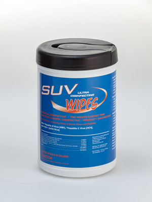SUV Ultra Disinfecting Wipes